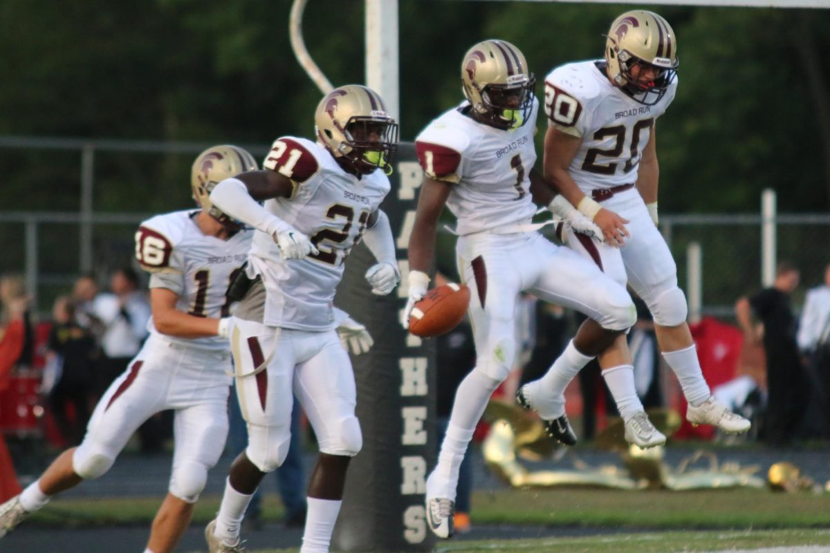 football broad run junior kyle brickerd scores four times