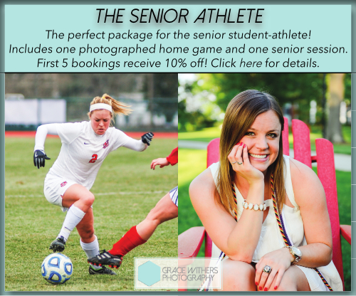 The perfect photo package for your senior student-athlete