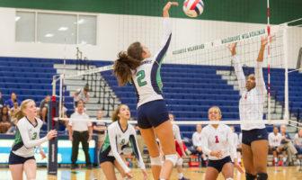 Eve Lippert Woodgrove Volleyball