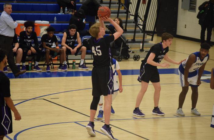 Ian Anderson Potomac Falls Basketball
