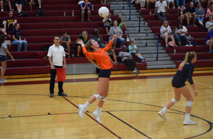Chandler Manusky Briar Woods Volleyball