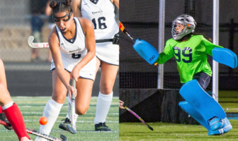 Ann and Juliana Ghally John Champe Field Hockey