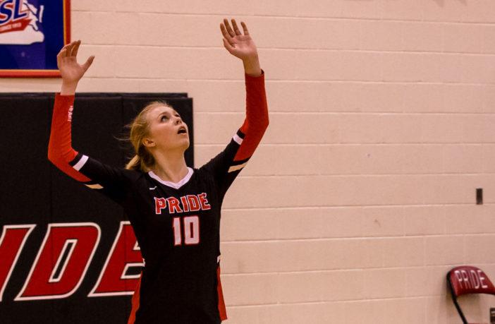 Kate Bentley Heritage Volleyball