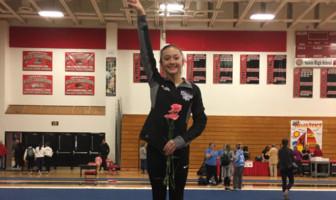 Marisa Cisneros Riverside High Gymnastics