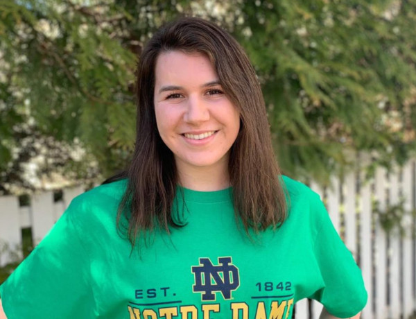 Girls Swimming: Riverside State Champ Allison Kopac Commits to DI Notre Dame