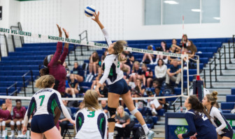 Olivia Providakes Woodgrove Volleyball