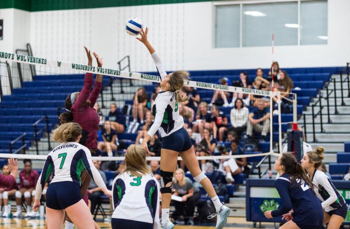 Olivia Providakes Woodgrove Volleyball