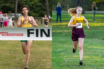 Kellen Hasle Ellie Desmond Cross Country