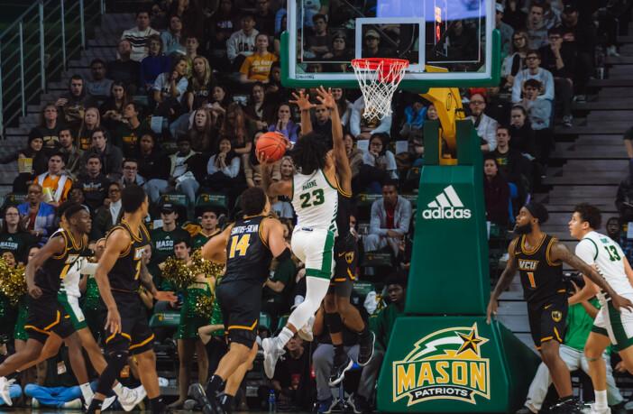 Javon Green George Mason Basketball