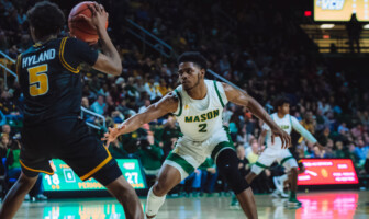 Xavier Johnson George Mason Basketball