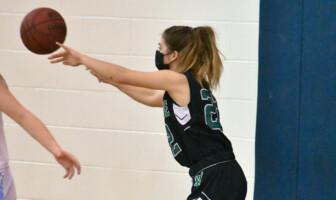 Ashley Moriarty Woodgrove Basketball