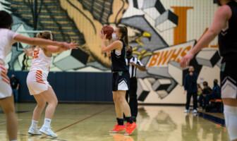 Jenna Steadman Woodgrove Basketball