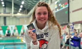 Mackenzie McConagha Briar Woods Swimming