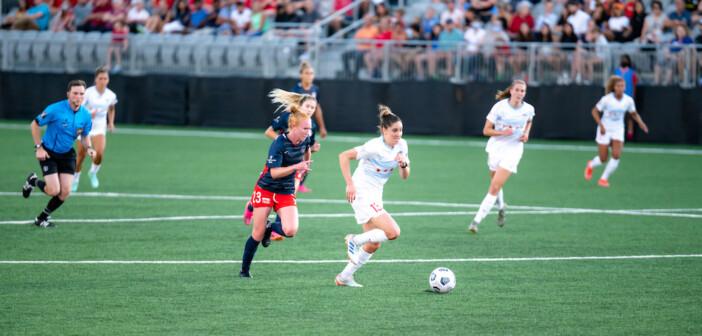Women's Soccer: Washington Opens Up Segra Field to Fans, Spirit Fall to Chicago