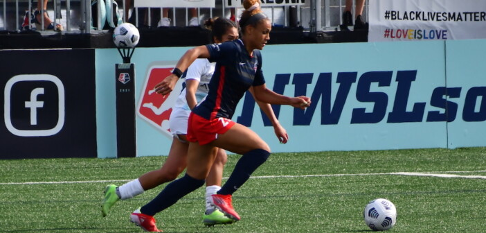 Women's Soccer: Shorthanded Spirit Fall to Gotham FC