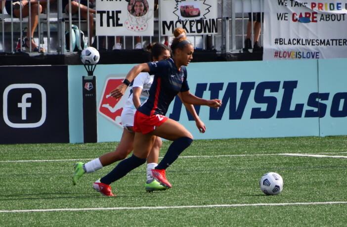 Trinity Rodman Washington Spirit Soccer
