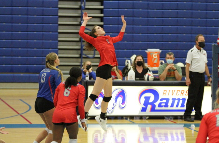 Hailey Flynn Riverside Volleyball
