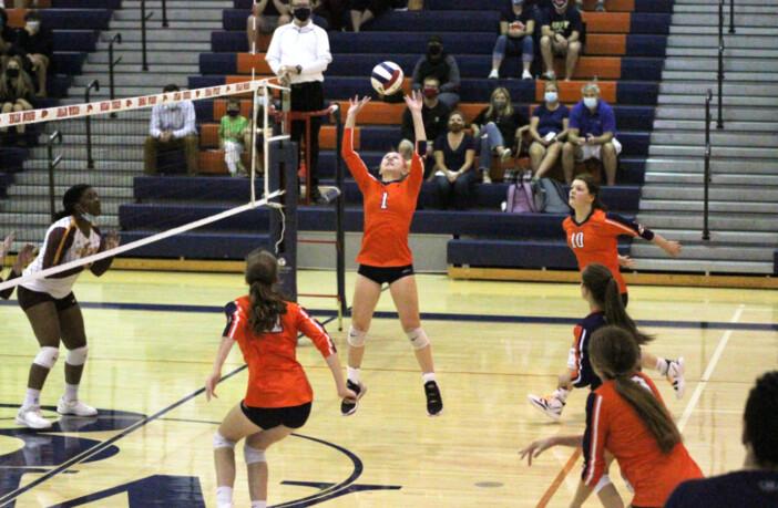 Jenna Van Der Biezen Briar Woods Volleyball