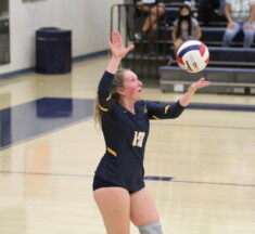 Volleyball: Loudoun County Celebrates Seniors with Straight Set Sweep of Dominion