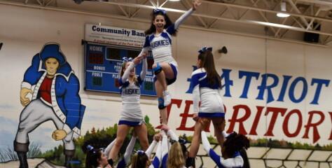 Cheer: Tuscarora Edges Broad Run at Dulles District Mini